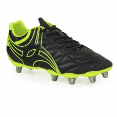 Gilbert Rugby Botines De Rugby Gilbert Sidestep X9 Lo 8Stud HG Negro