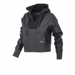 Buzo Con Capucha Under Armour Rival Mujer Gris