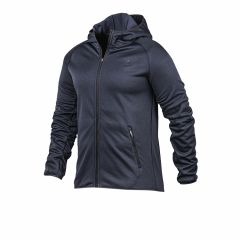 Campera Con Capucha Topper Running Poly Azul