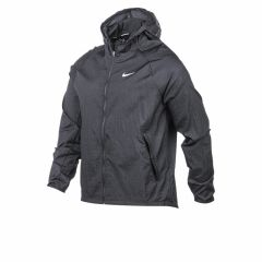 Campera Rompeviento Impermeable Nike Running Essential Negra