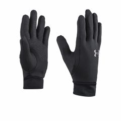 Guantes Running Under Armour Storm Liner Negro