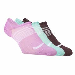 Medias Invisibles Pack x3 Nike Everyday Plus Mujer