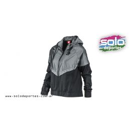 f2a3301538b25 Rompeviento Windrunner Chambray W