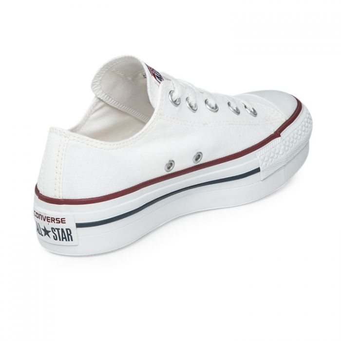 converse all star blanca mujer