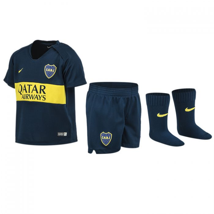 wholesale dealer b2563 1e0c8 Kit Boca Juniors Oficial Bebe