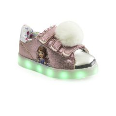 A8 LED USB Disney Princesa Sofia Velcro Kids