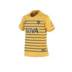 Camiseta Boca Jrs Alternativa Stadium Kids