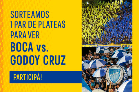 Boca vs Godoy Cruz